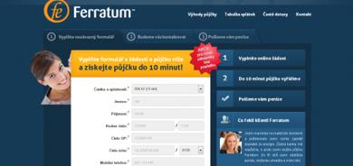Půjčka do výplaty - Ferratum půjčka