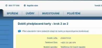 Česká spořitelna Servis24